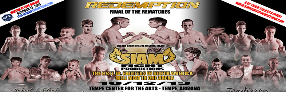 October 12th – Redemption Rematch Event at TCA