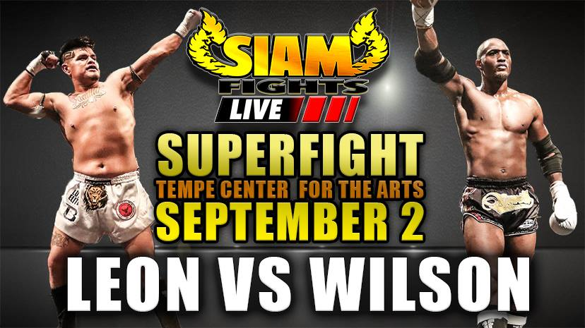 Fighters Prepare for their Epic Rematch on Siam Fights Live Muay Thai PPV –  Sept 2, 2016