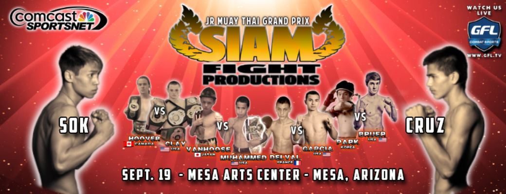 Siam Fight Productions Exciting Matchmaking For September