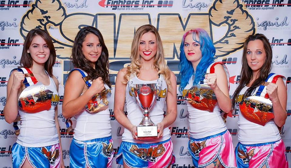 The September Siam Fight Girls are ready to go. Come see them on the 19th!