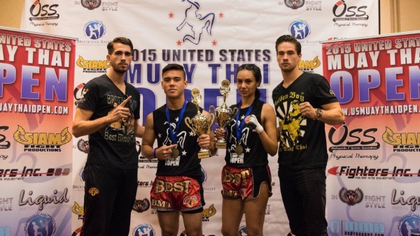 America's newest tournament: the U.S. Muay Thai Open